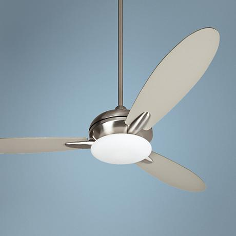 "52"" Craftmade Loris Stainless Steel Ceiling Fan"