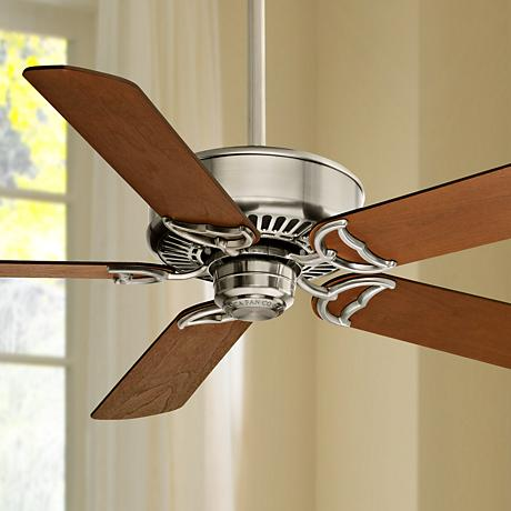 "54"" Casablanca Panama DC Nickel Energy Star Ceiling Fan"