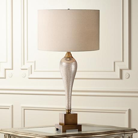 Gigi Mercury Glass Table Lamp