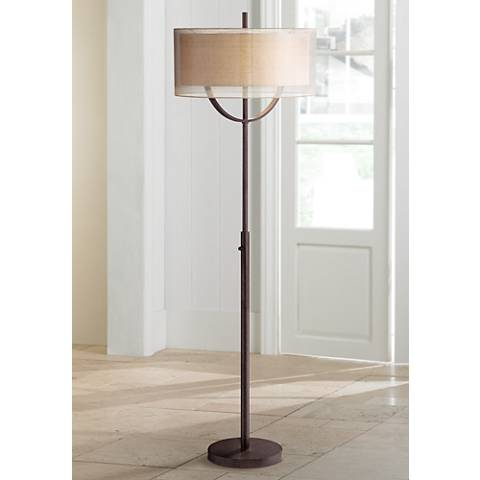 Possini Euro Arris Light Blaster Modern Floor Lamp