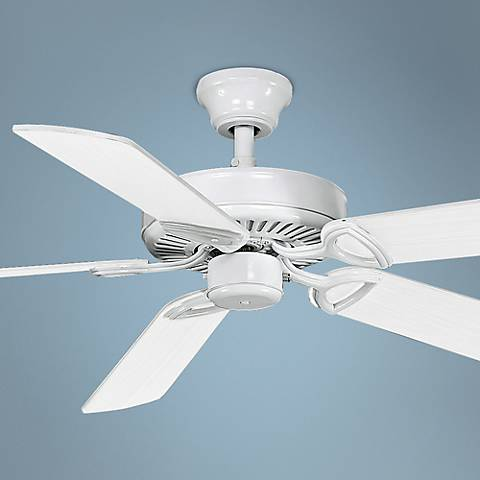 "52"" Matthews America White Ceiling Fan"