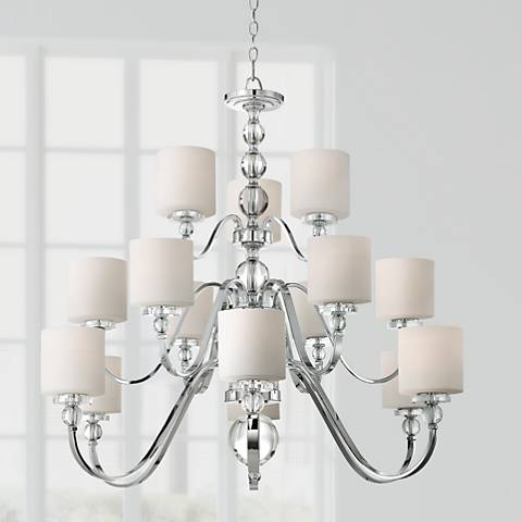 Quoizel Downtown 15-Light Chrome Chandelier