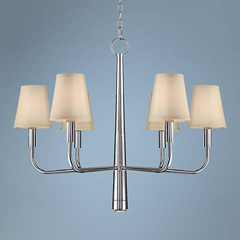 "Lite Source Savona 30"" Wide Chrome Chandelier"