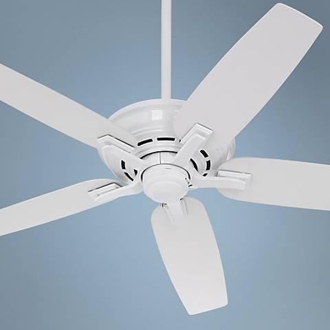 "52"" Casablanca Academy Snow White Ceiling Fan"