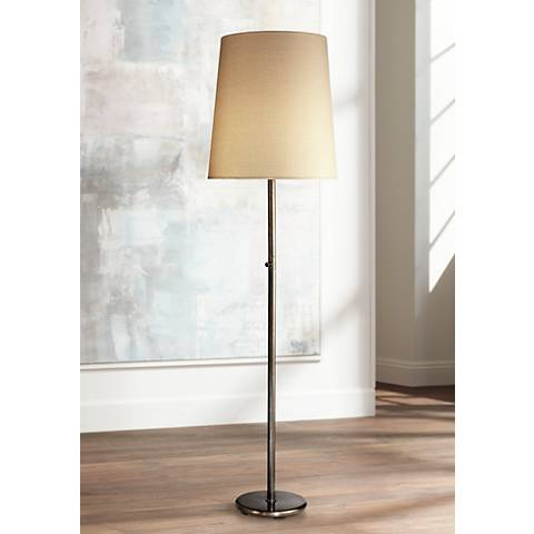 Robert Abbey Rico Espinet Buster Patina Bronze Floor Lamp