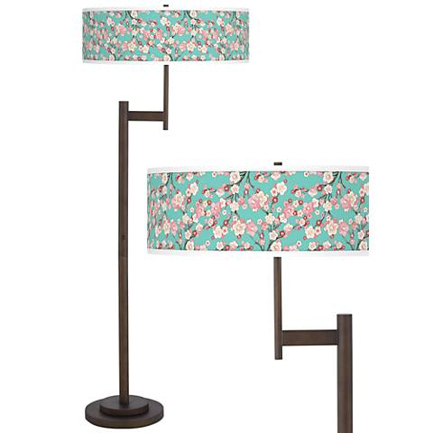 Cherry Blossoms Parker Light Blaster™ Floor Lamp