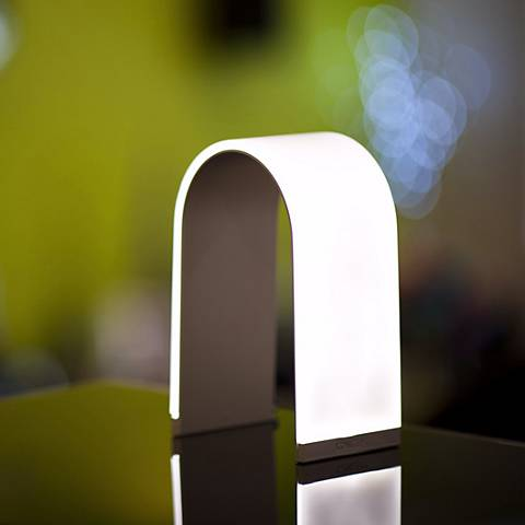 Mr. N - Accent LED Table Lamp in Black by Koncept