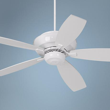 "60"" Casa Belle Grove™ White Outdoor Ceiling Fan"