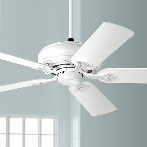 "52"" Casa Trilogy™ White Ceiling Fan"