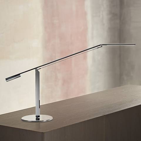 Koncept Gen 3 Equo Warm Light LED Desk Lamp in Chrome