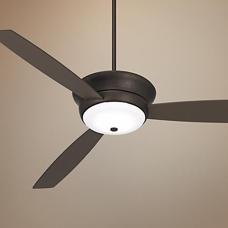 "70"" Casa West Park™ Bronze Outdoor LED Ceiling Fan"