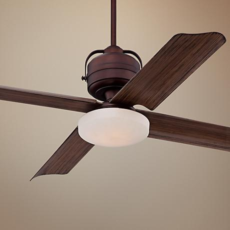 "52"" Casa Tiburon Oil-Brushed Bronze Outdoor Ceiling Fan"
