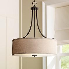 Drum Pendant Lights  Drum Shade Pendant Lighting  Lamps Plus