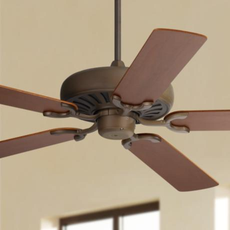 "60"" Casa Equinox™ Bronze and Teak Ceiling Fan"