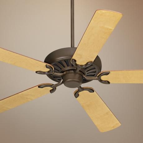 "60"" Casa Equinox Oil-Rubbed Bronze Maple Blades Ceiling Fan"