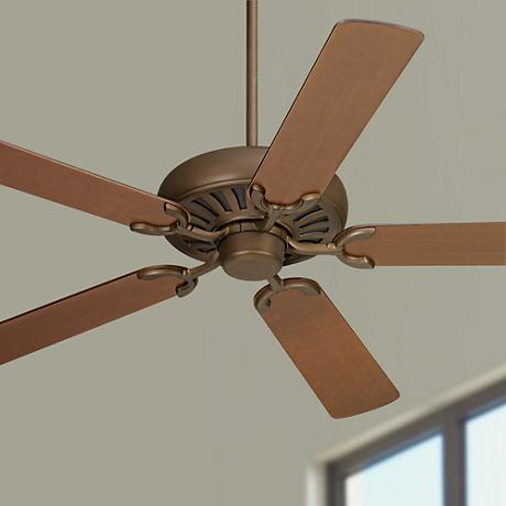 "60"" Casa Equinox Oil-Rubbed Bronze Walnut Blade Ceiling Fan"