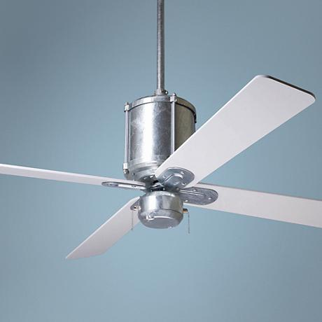 "52"" Industry Galvanized Ceiling Fan"
