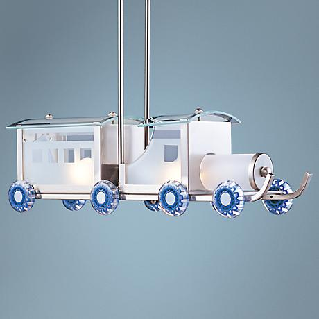 Choo Choo Train Pendant Chandelier