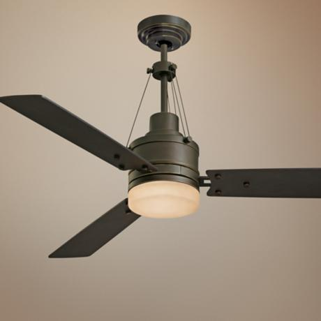 "54"" Highpointe Golden Espresso Finish Ceiling Fan"