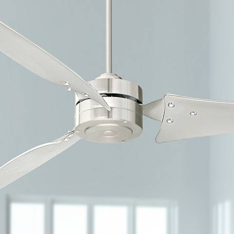 "60"" Emerson Loft Brushed Steel Ceiling Fan"