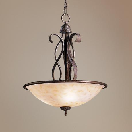 "High Country Collection 24 1/2"" Wide Pendant Chandelier"