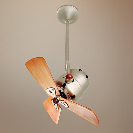 "16"" Matthews Bianca Direcional Brushed Nickel Ceiling Fan"
