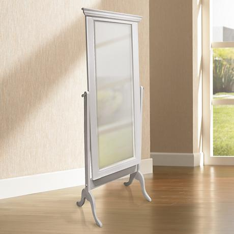 "Brunswick Traditional Cheval 68"" High Floor Mirror"