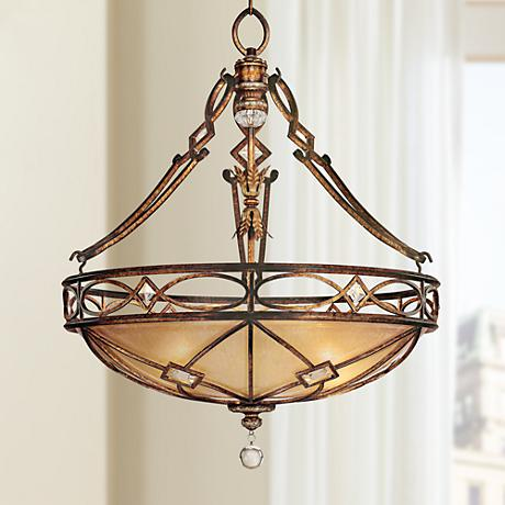 "Minka Aston Court Collection 24"" Wide Pendant Light"