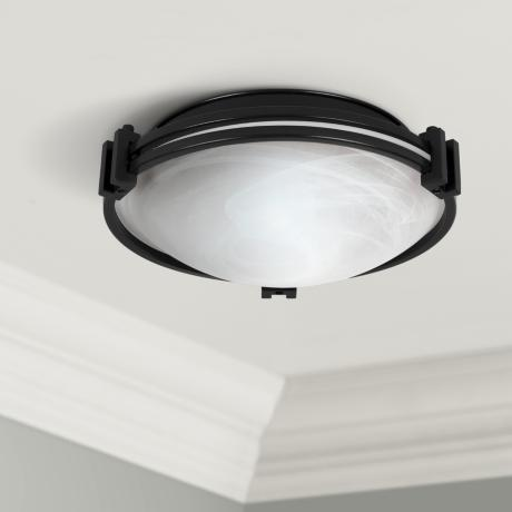 "Possini Euro Design 13 1/2"" Wide Ceiling Light Fixture"