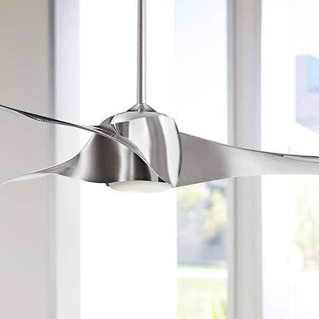 "58"" Artemis Liquid Nickel Ceiling Fan"