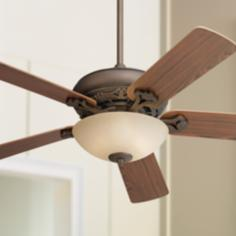 "Trilogy 52"" with Scavo Bowl Dual Mount Ceiling Fan"