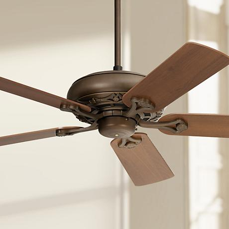"52"" Casa Vieja® Trilogy Bronze Ceiling Fan"