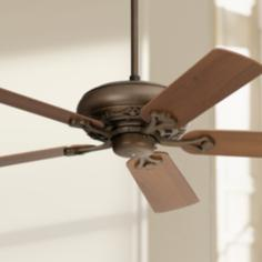 "52"" Casa Vieja® Trilogy™ Bronze Ceiling Fan"