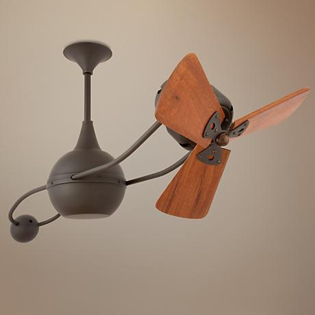 "40"" Matthews Brisa 2000 Bronze Wood Ceiling Fan"