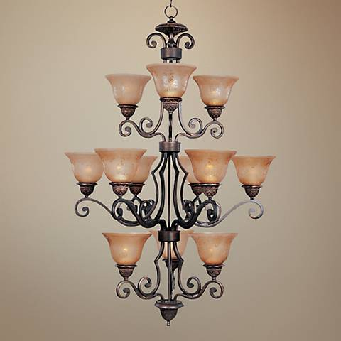 Symphony Collection Twelve Light Chandelier