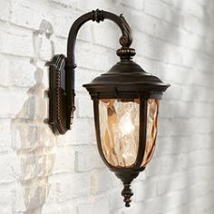 Bellagio 16 1 2 High Downbridge Outdoor Wall Light