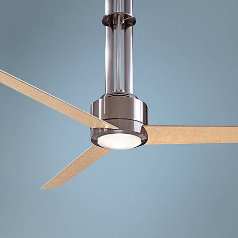 "56"" Minka Flyte™ Brushed Nickel Ceiling Fan"