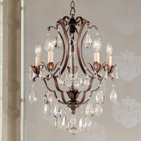 "Feiss Maison de Ville 16"" Wide Five Light Chandelier"