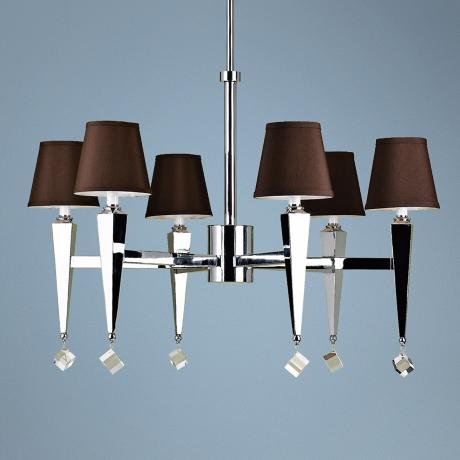 Candice Olson Margo 6-Light Large Modern Chandelier