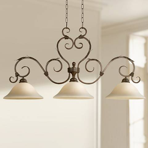 Vicosa Collection Three Light Island Style Chandelier