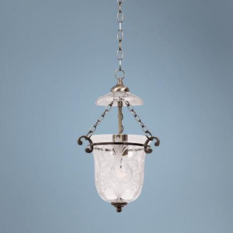 Camden Collection Small Pendant Chandelier