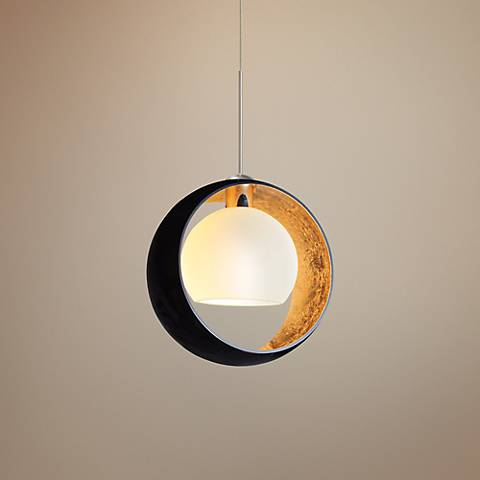 Besa Pogo Collection Black Pendant