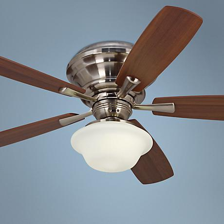 "52"" Casa San Marin Brushed Nickel Ceiling Fan"