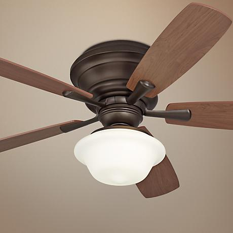 "52"" Casa San Marin Oil-Rubbed Bronze Hugger Ceiling Fan"