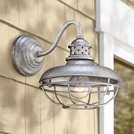 Metal Outdoor Wall Lights : Franklin Park Metal 13