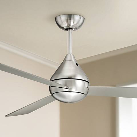 "52"" Casa Vieja® Argonaut Brushed Nickel Ceiling Fan"