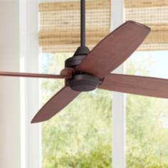"52"" Casa Vieja® Impel ™ Bronze Damp Ceiling Fan"