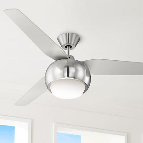 "54"" Casa Reaction™ Brushed Nickel Ceiling Fan"