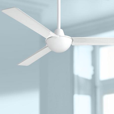 "52"" Minka Aire Kewl White Ceiling Fan"