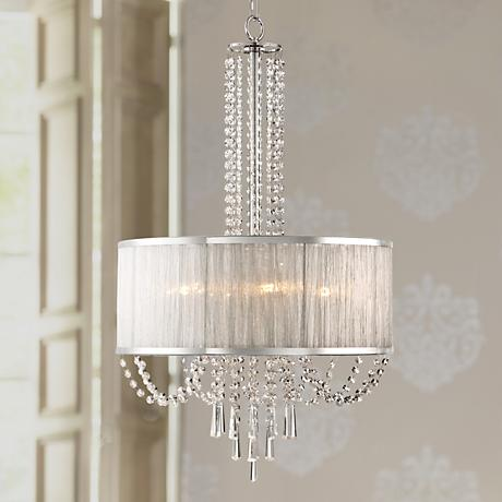 "Ellisia 19 3/4"" Wide Crystal Chandelier"